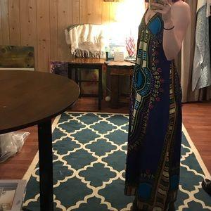 Kaleidoscope Maxi dress